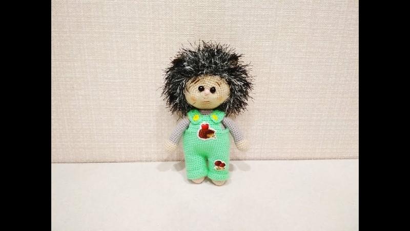 Игрушка амигуруми Ежик Пшик крючком Сrochet Hedgehog