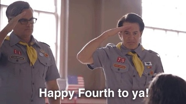 """Kyle MacLachlan on Instagram """"Hope you're frolicking today with family, food, and fireworks…have a fantastic fourth! FourthofJuly portlandia 🦅🇺🇸"""""""