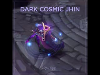 Dance Dark cosmic Jhin