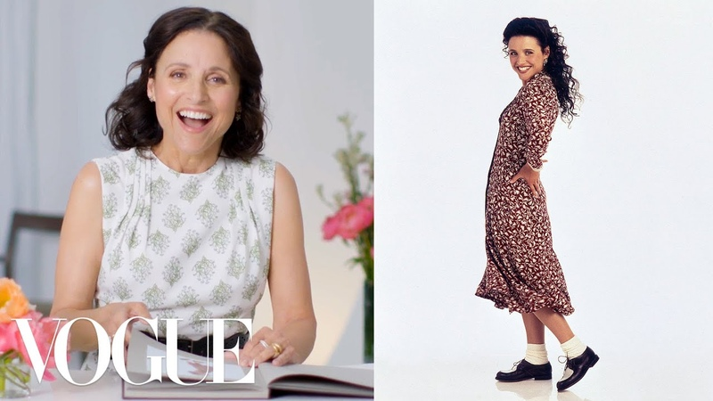 Julia Louis Dreyfus Reviews Her Iconic Looks From Seinfeld Veep and More Vogue