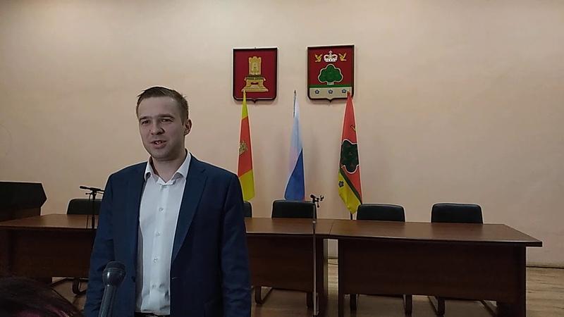 М. А. Максимов, министр здравоохранения тв. обл. о задачах медицины в Бежецке