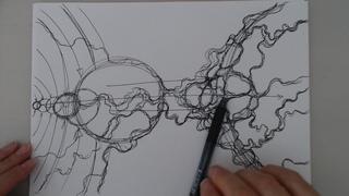 Нейрографика - техника нейрографической линии