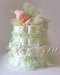 Торт из памперсов ирина вендик
