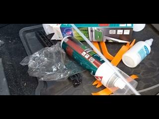 Очиститель - освежитель кондиционера Kerry + хлоргексидин на Kia Sportage 3 - эффект сразу заметен