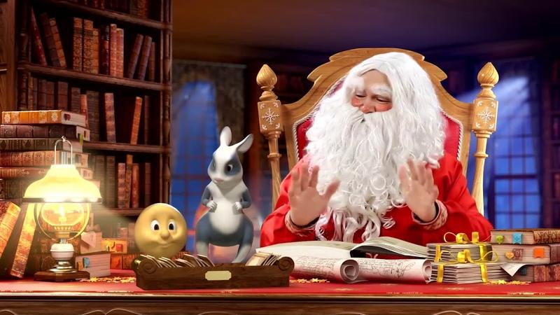 Новогоднее видео поздравление Сказка Колобок