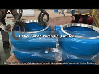 Tobee® AH horizontal centrifugal pumps and spare parts
