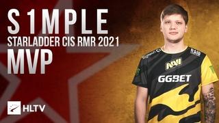 s1mple - HLTV MVP of StarLadder CIS RMR 2021