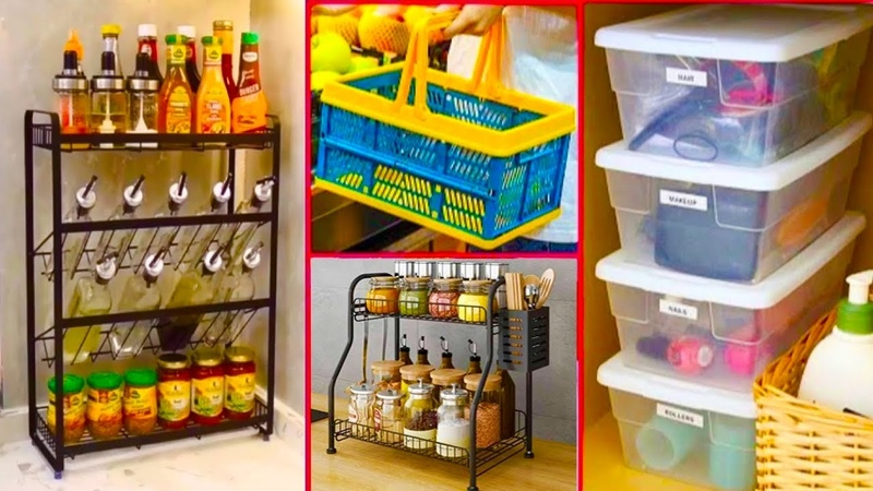 Smart Appliances Gadgets For Every Home Amazon organizers Amazon Kitchen item Racks Shelves Baskets