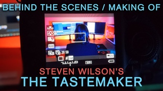 """Behind the Scenes / Making of Steven Wilson's """"The Tastemaker"""" Music Video (with FLAC Download Link)"""