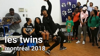 Les Twins Montreal workshop AP   Larry freestyles to Shash'U