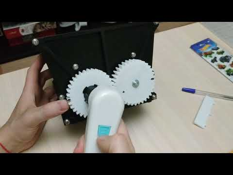 Давилка дробилка для винограда на 3D принтере