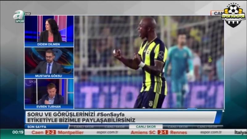 27 Eylül 2018 Evren Turhan, Didem Dilmen, Mustafa Göksu GS,FB,BJK