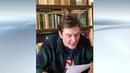 Актер П. Котров читает книгу Н. Носова «Незнайка в Солнечном городе»