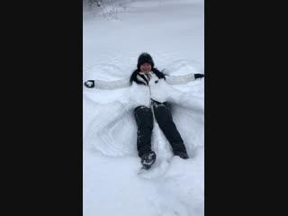 Ангел 👼 снежный