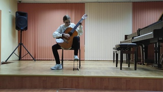"Крюкова Дарья, ""Берёзовая роща"" Д.Джагашвили."