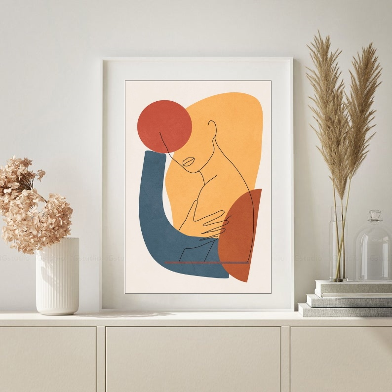 Постер раскраска в стиле Модерн (надеюсь правильно определила😊)