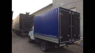 Тент каркас ворота на грузовик изготовление