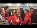 Поездка в Норвегию на женский чемпионат мира по хоккею с мячом видео первого дня
