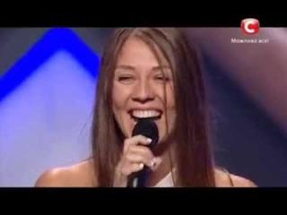 Х Фактор 4 сезон Красотка Дарья Ковтун Кастинг в Одессе 31 08 13 Икс фактор Украина 2013
