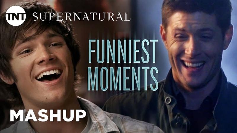 Supernatural Funniest Moments [MASHUP] | TNT
