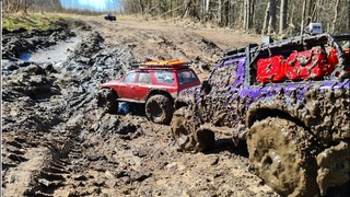 First dirty off-road vehicle this year. Traxxas trx4, Axial cx10 iii & Gen 8