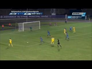 Serikzan Muzhikov Goal HD   Sutjeska 0   2 FC Astana    18 07 2018 Full Replay