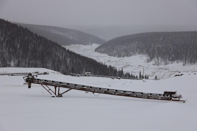 Оборудование ГРК законсервировано на зиму.