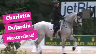 Charlotte Dujardin :Taking the Trot from Ugly to Awesome in a Dressage Horse