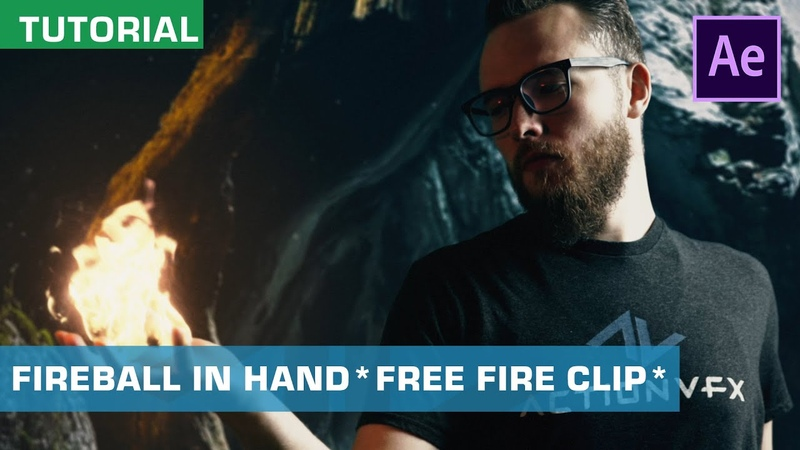 VFX Tutorial Creating Fireball In Hand Effects | Free Fire Clip, Plate, More