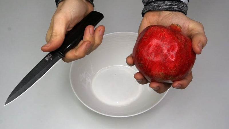 How To Peel a Pomegranate The Fast Way