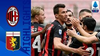 Milan 2-1  Genoa | Milan Win at the San Siro! | Serie A TIM
