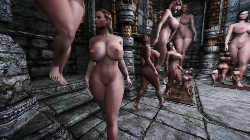 The Tripple Threat of Skyrim Mods