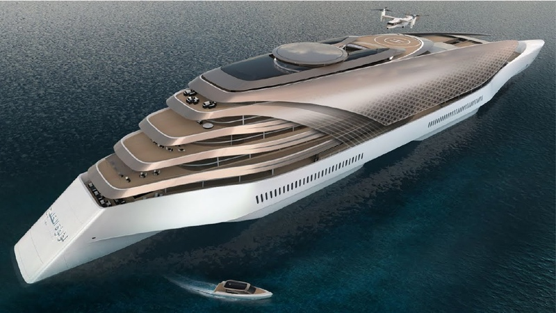 Pearl of the Gulf, 280m Concept Yacht | Concept Vehicle 23