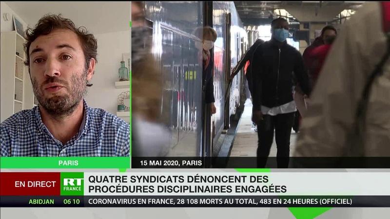 Appel à la grève à la SNCF La SNCF se livre à une chasse aux syndicalistes totalement inacceptable