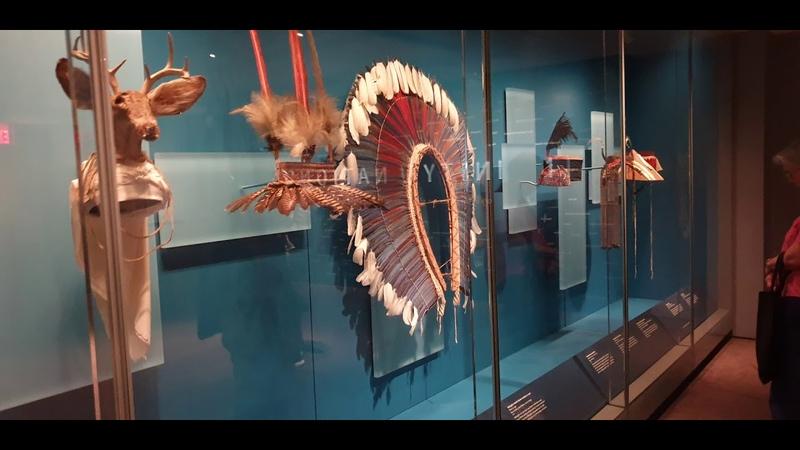 Музей американских индейцев. Перезапись звука