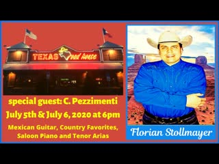 Live from the Texas Roudhouse (Mexican Guitar and Country-Western Favorites July 5, 2020)