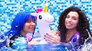 Игры одевалки - Принцессы Диснея плавают в Бассейне! Лепим из пластилина ПЛЕЙ ДО! - Смешные видео