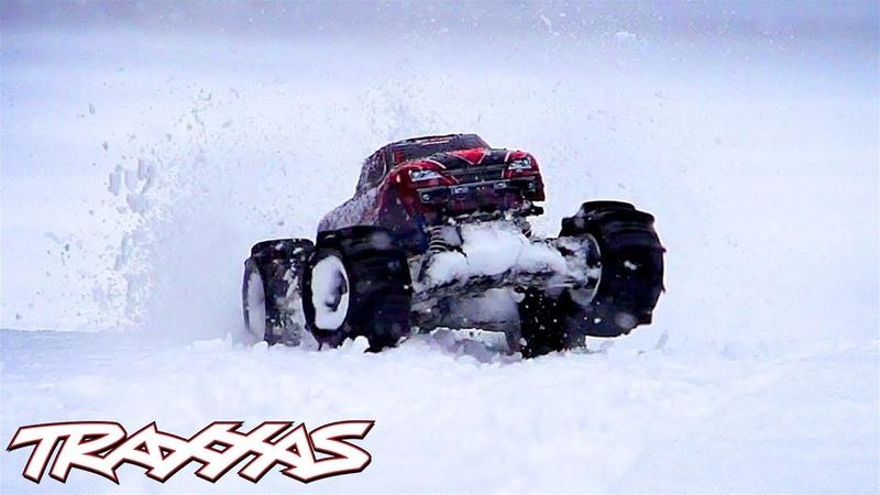 Paddle Tire Snow Shredding Traxxas Stampede 4X4 VXL