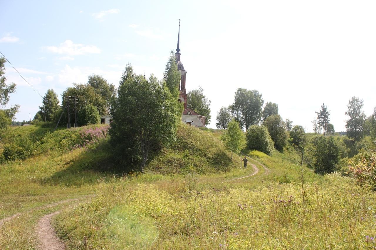 Курган Журавец на городище Унорож