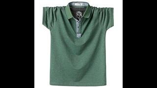 Повседневная летняя мужская рубашка поло с коротким рукавом, высокое качество, удобная 95% хлопковая футболка поло, рубашки для