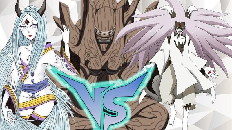 Naruto S U N storm 4 Кагуя Ооцуцуки vs Момошики Ооцуцуки