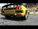 Skyline GT-R vs Diablo SV Engine sound battle