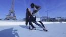 ENAH POCAHONTAS DANCE AT THE EIFFEL TOWER (Paris, France) 🇫🇷