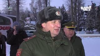 Вторая смена новомосковских десятиклассников отправилась в военно патриотический лагерь «Авангард»