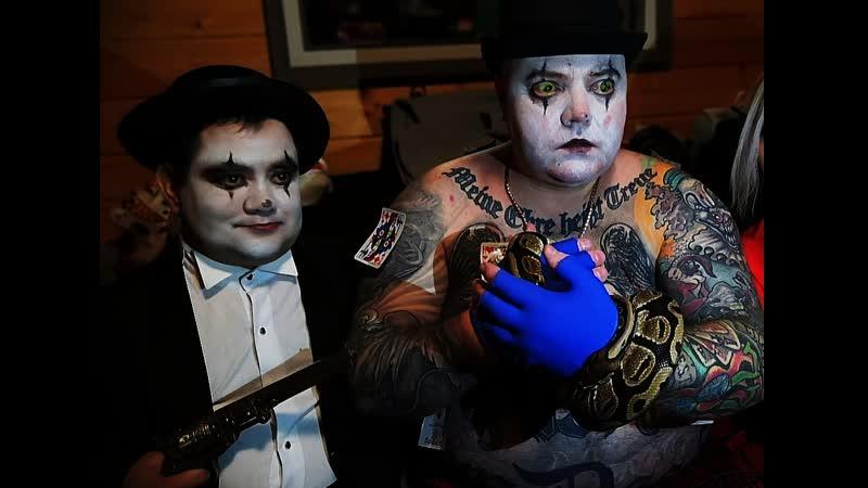 Страшные клоуны и жуткие клоунессы фрик шоу и лучшие артисты цирка уродов на корпоративный Хэллоуин и Пятница 13
