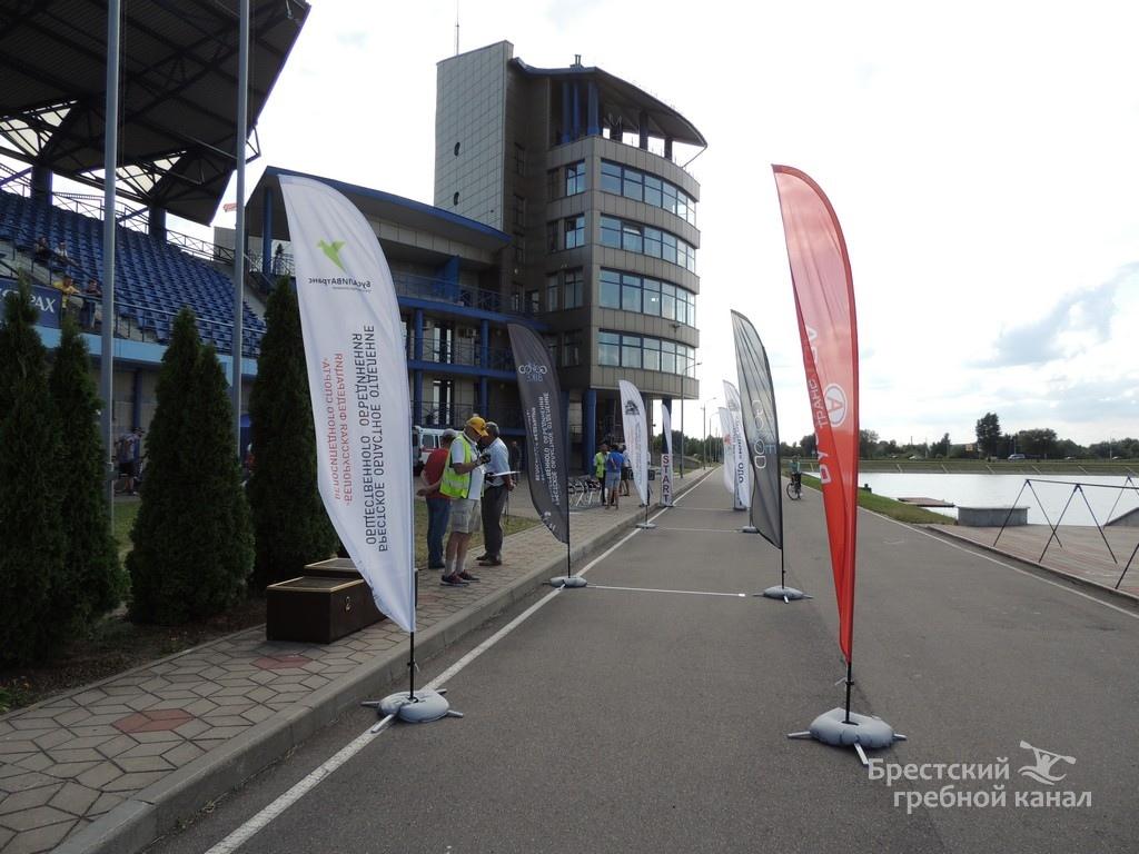 Исключительно девичья велогонка состоялась на Брестском гребном канале