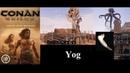 Conan Exiles evoluindo o templo de Yog, ativando o escudo e invocando o avatar 2021 Vídeo 101