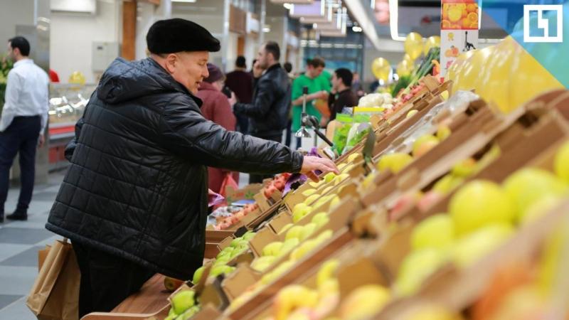 Экопродукты на Велозаводском рынке