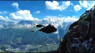 GoPro Полёта в вингсьюте#HD
