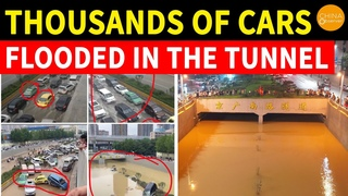 Horror of Zhengzhou subway and tunnel floods | Is Henan Flood a natural disaster or a man-made one?